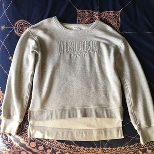 Victoria's Sport Logo High-Low Hem Sweatshirt